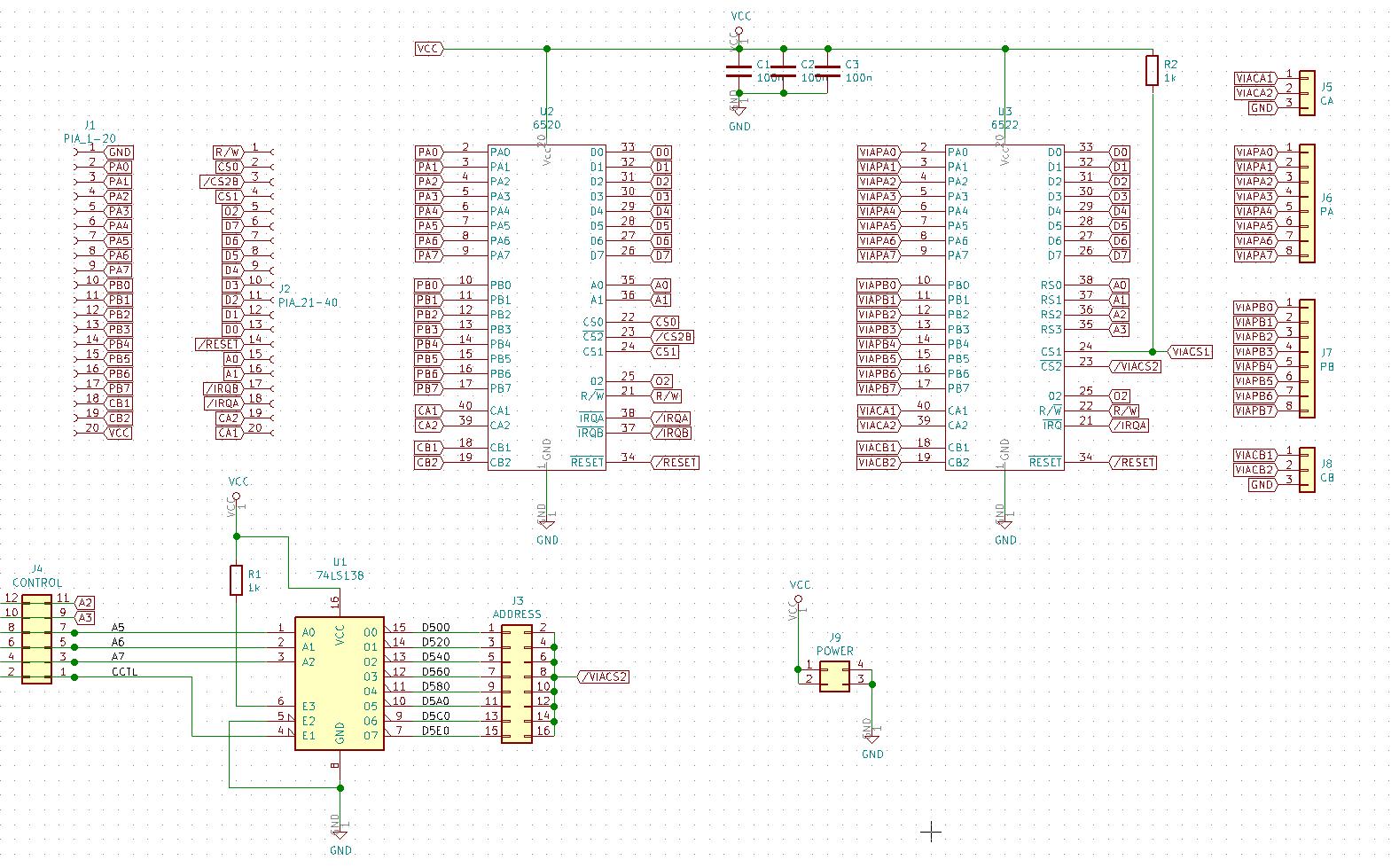 VIAtariXE 1.0 schemat